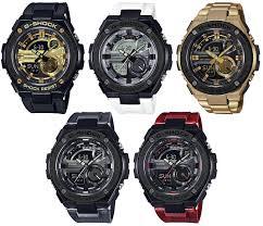 black friday g shock watches new g shock g steel gst 210 watches black u0026 gold black u0026 white