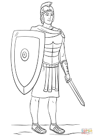 roman soldier coloring page free printable coloring pages