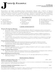 business development manager resumes resume template business manager ixiplay free samples management