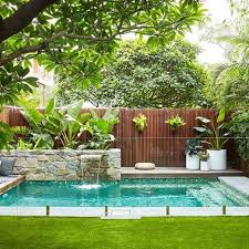 Backyard Swimming Pool Ideas 2778 Best Pools Images On Pinterest Small Swimming Pools Small