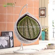 Outdoor Swingasan Chair Patio Garden Resin Wicker Rattan Outdoor Hanging Swing Chair