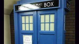 Dr Who Tardis Bookshelf My Homemade Tardis Youtube