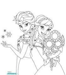 frozen disney coloring pages coloring pages anna and elsa 03 disney coloring pinterest