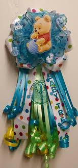 how to make a baby shower corsage s creations boy theme corsages