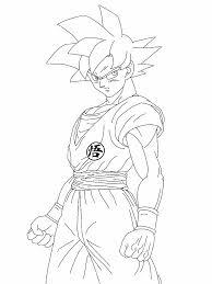 dragon ball z super saiyan god images sketch great drawing