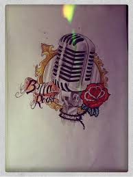 old microphone tattoo drawing by mibooo on deviantart