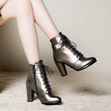 womens boots for winter 2017 2017 autumn winter boots 9cm high heels pointed toe