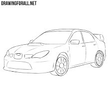 ferrari logo drawing how to draw a subaru impreza wrx sti drawingforall net