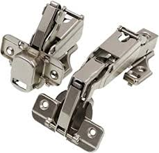 kitchen corner cabinet hinges decobasics lazy susan pie corner kitchen cabinet hinge set for folding doors 165 degree nickle plated iron concealed hinges with plates for