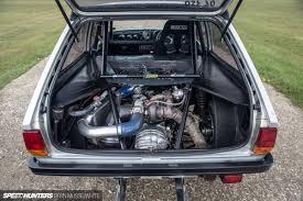 subaru custom cars old skool ford fiesta 100e cosworth subaru santa pod 35 of 84