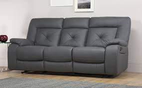 Cheap Recliner Sofas For Sale Terrific Grey Leather Reclining Sofa Leather Recliner Sofas Buy