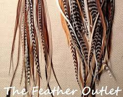 hair feathers hair feathers etsy