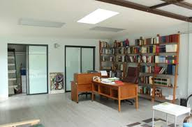 garage office garage conversion contemporary home office los angeles by