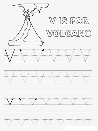 letter v worksheets for preschool kindergarten printable