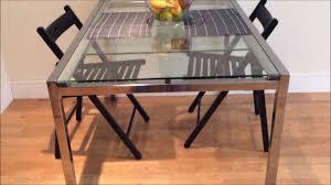 ikea glivarp extendable table ikea glass dining extendable table glivarp youtube