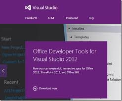 sharepoint 2013 project templates missing in visual studio 2012