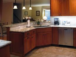 undermount corner kitchen sink bath and shower combination two