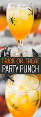 trick or treat party punch the 5 o u0027clock chef