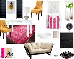 Glam Home Decor In Progress Project Pink Glam Home Office Whitney J Decor