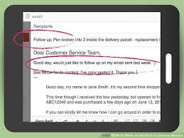 How To Send Resume By Email Sample by How To Write An Email To Customer Service With Sample Emails
