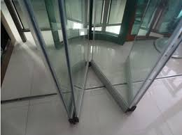 metal glass doors stainless steel glass folding door system for 8 12mm glass sa8900a