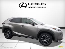 white lexus nx 200t 2017 atomic silver lexus nx 200t f sport awd 118339114 gtcarlot