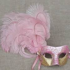 pink masquerade masks colombina cloud pink masquerade mask vivo masks