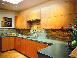 Slate Backsplash Kitchen Slate Backsplash With Concrete Counter Kitchens Define Design