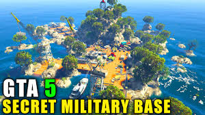 Military Bases In United States Map by Gta 5 Pc Mods Secret Military Island Base Gta 5 Map Mod Youtube