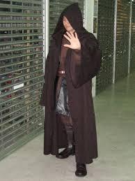 Anakin Halloween Costume Dark Brown Robe Jedi Cloak Obi Anakin Costume Star Wars Halloween