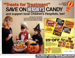 vintage halloween candy newspaper ad circulars from the 80 u0027s and