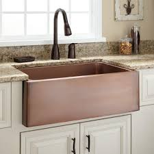 Bronze Kitchen Sink Kitchen Amazing Hammered Copper Kitchen Sink Undermount With