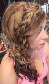farewell hairstyles 45 side hairstyles for prom to please any taste