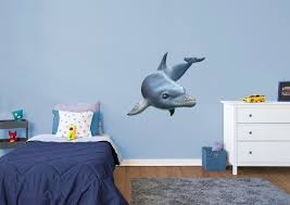 dolphin wall decal shop fathead for general animal graphics decor