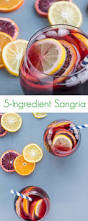 5 ingredient spanish sangria the lemon bowl