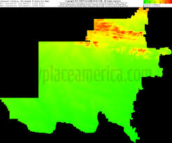 Counties In Utah Map by Free Jackson County Oklahoma Topo Maps U0026 Elevations