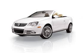 volkswagen convertible eos white 2010 volkswagen candy white eos top down eurocar news