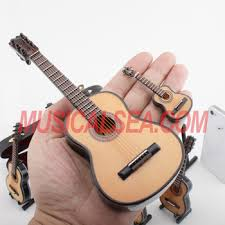 mini guitar ornament musical instrument ornament gift for