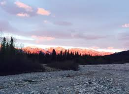 Healy Alaska Map by Healy Healy Alaska Sunrise In Alaska Turning The Mountains Pink