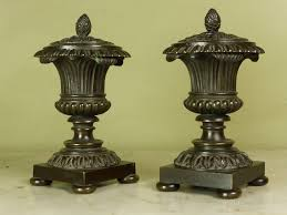 Classical Vases Antiques Atlas Pair Of Regency Bronze Classical Vases