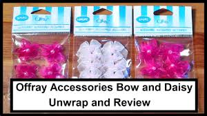 offray accessories offray accessories bow and flower unwrap and review