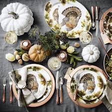 60 chic pieces to decorate your thanksgiving dinner table the
