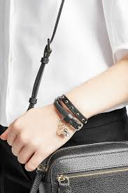 leather wrap bracelet women images Alexander mcqueen women accessories jewelry discount alexander jpg