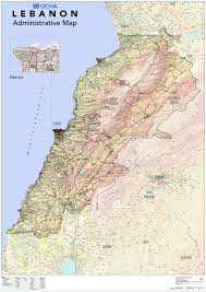 Beirut On Map Document Interagency Im Lebanon Reference Map A0