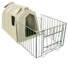 Plastic Calf Hutches Calf Hutch Individual Plastic Outdoor Premium Fence Calf