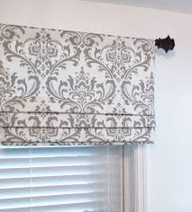 faux fake flat roman shade valance your choice by jaimeinteriors