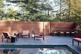 Backyard Fence Decorating Ideas by Best Backyard Fence Ideas