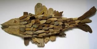 driftwood home decor handmade driftwood fish wall plaque driftwood fish driftwood home