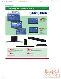 samsung soundbar black friday bj u0027s wholesale black friday ad hours u0026 deals living rich with