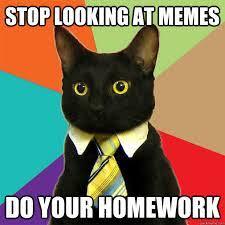 Homework Meme - image result for just do your homework meme dissertation